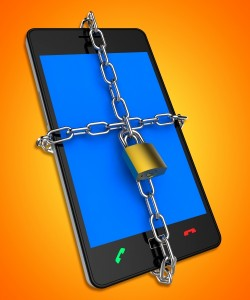 10142776-smartphone-locked-shows-web-protect-and-unauthorized
